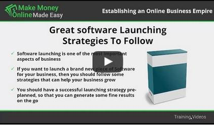 Software product launching- You'll learn about launching a software program.
