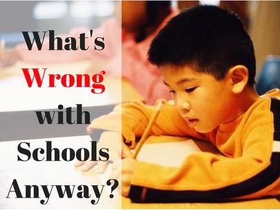 What's Wrong with Schools Anyway? LOTS!