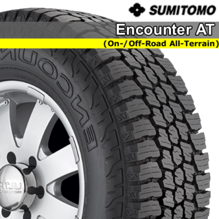 Fuzion Tires Price >> Sumitomo Encounter AT | Greenleaf Tire