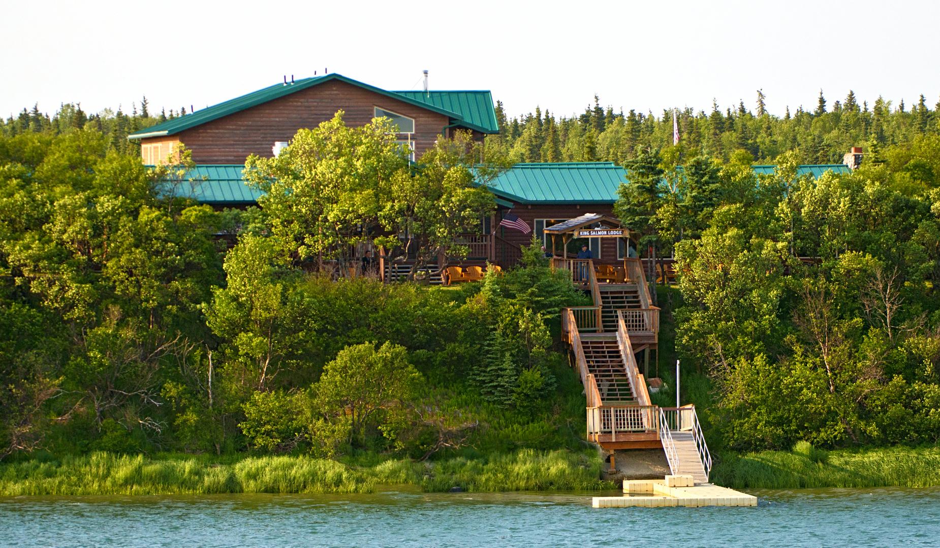 Bear Viewing & Fishing - King Salmon Lodge