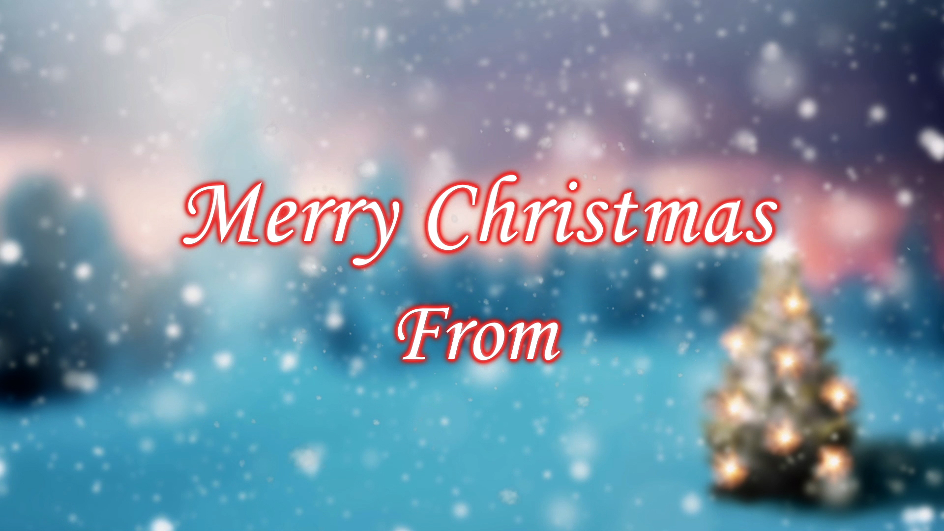 Dv greetings personalized video ecards video greeting cards merry christmas version 2 m4hsunfo