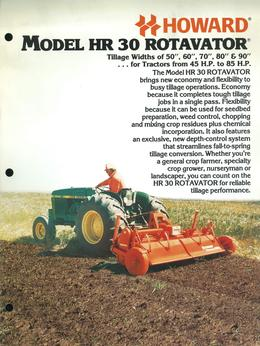 Howard Rotavator Model HR30 Rotavator