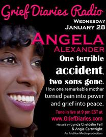 Grief Diaries Radio with Angela Alexander