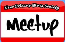 New Orleans blues society Meetup page