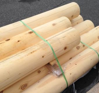 Alaskan Yellow Cedar Turn Poles