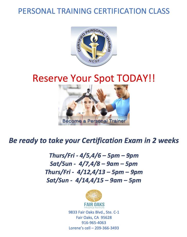 Personal Trainer NCSF