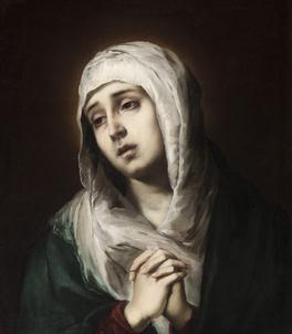 Bartolomé Esteban Murillo's La Dolorosa.Images may be subject to copyright