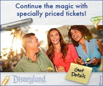 Click here for Disneyland discount tickets
