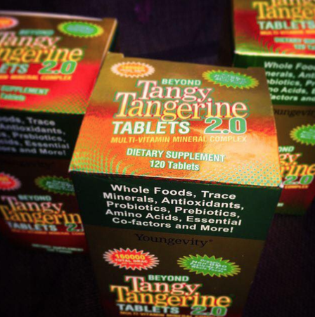 Beyond Tangy Tangerine® 2.0 Tablets are now an easier way to provide your body with essential nutrients needed for optimal health. This multi-vitamin mineral complex contains: Whole Foods, Trace Minerals, Antioxidants, Prebiotics and Probiotics, Amino Acids plus Synergizing Nutrients for maximum absorption by the body!