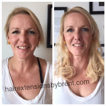 Blog jan has very fine hair needing more volume and fullness this look was achieved by adding only one bundle of great lengths hair extensions pmusecretfo Image collections
