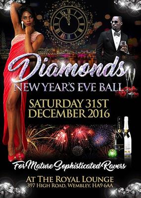 diamonds NYE ball 2016, mason's rum punch