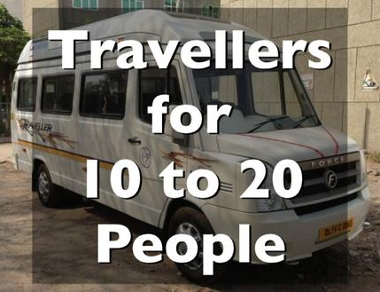 Traveller on rent in delhi