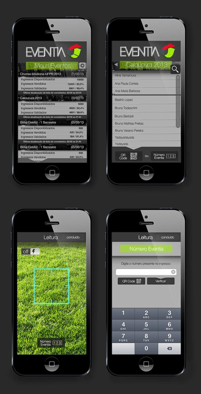 UX interface for mobile