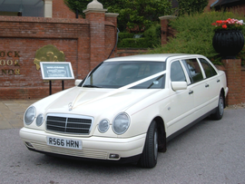 Wedding Car Hire Essex Mercedes Limousine