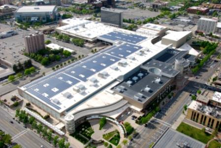 Salt Lake City Convention Center Rooftop Solar