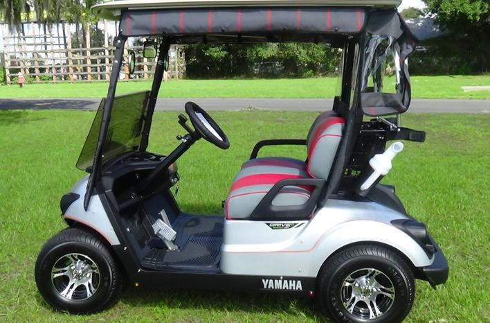 2017 yamaha drive 2 quiet tech villages golf carts for