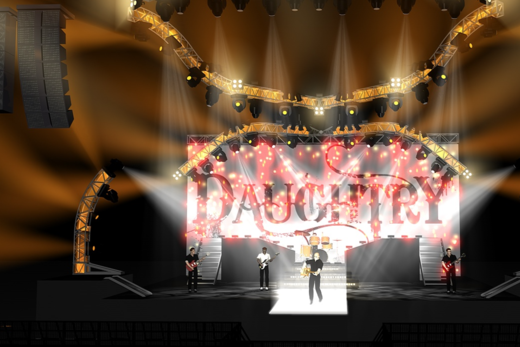 Paul Busch Stage Design Daughtry