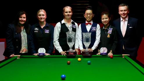 Reanne Evans and Ng On Yee are the top two players in the world, but many players behind them are rapidly improving.