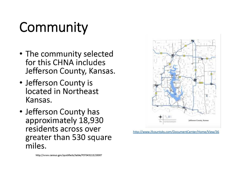 Kansas jefferson county winchester - Application