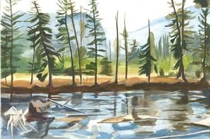 Landscape Paintings of Yellowstone