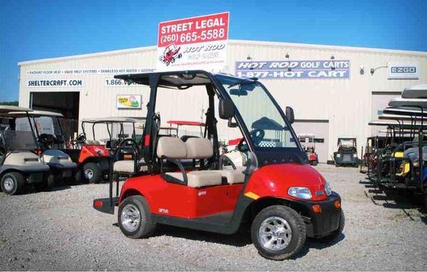 EZGO, 2Five, Street legal golf cart, Hot Rod Golf Carts