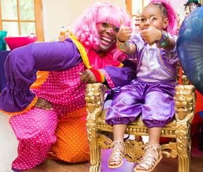 Taffy the Clown Child Birthday Party in Philadelphia