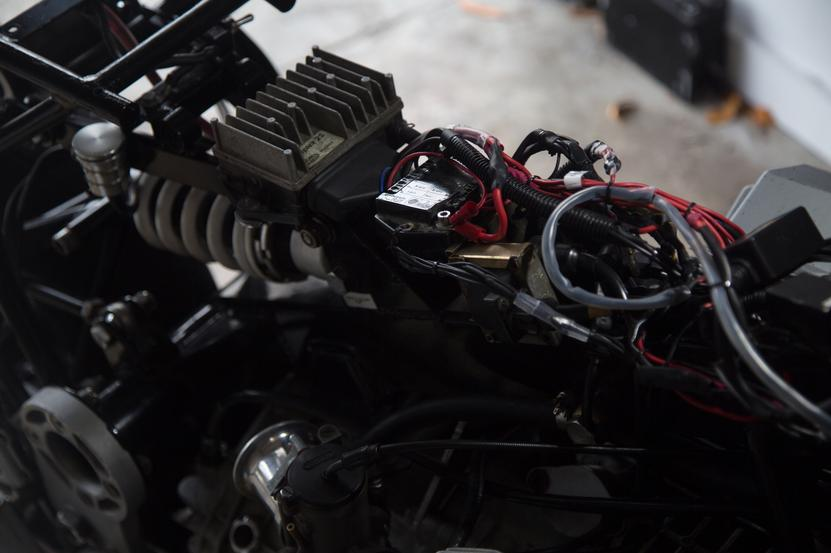 electrical custom motorcycle work