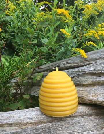 Pure Beeswax Candles, Beeswax Candles Canada, Hand Made, Lucky Clover Candles