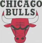 Chicago Bulls Cross Stitch Chart Pattern
