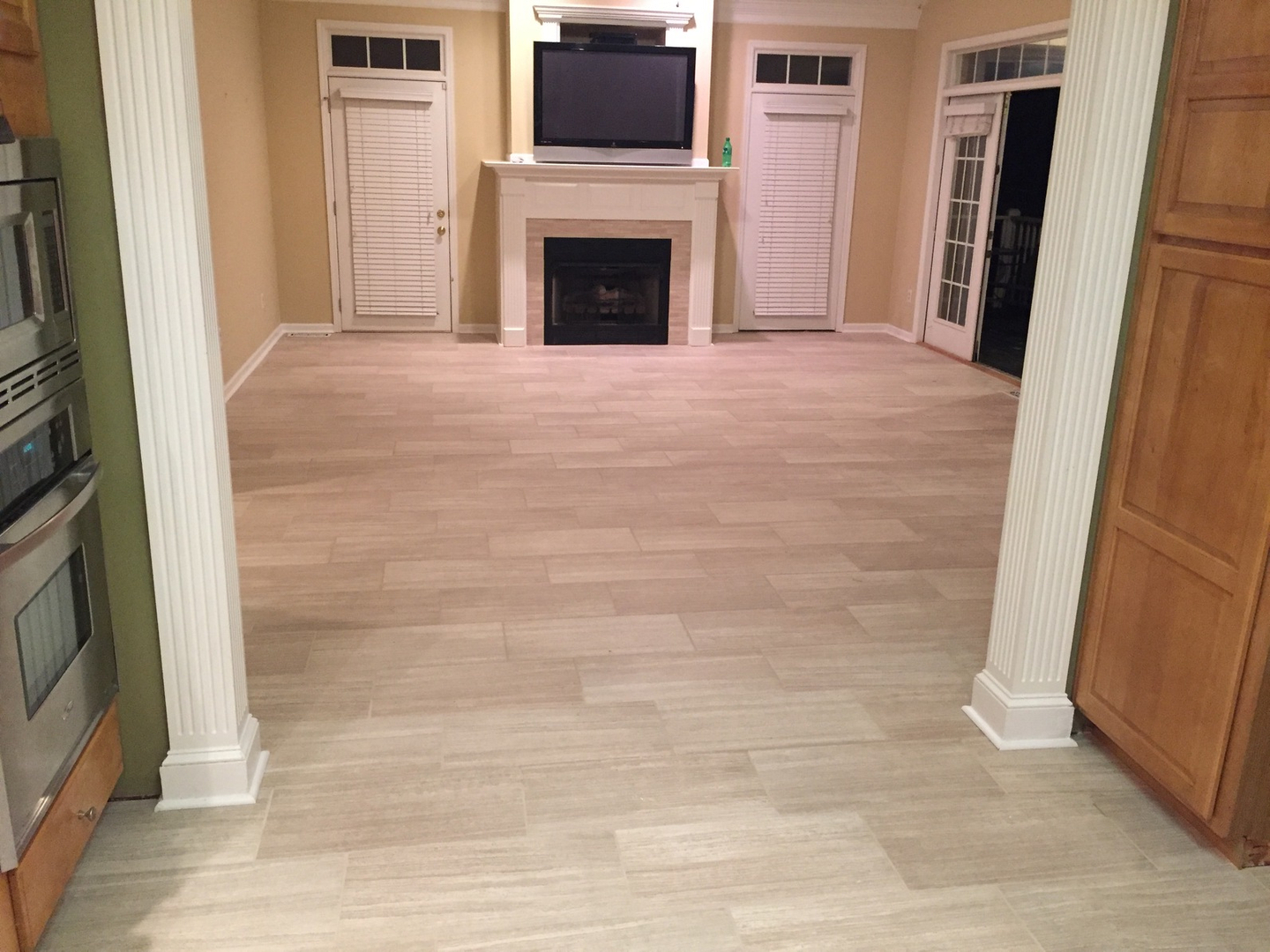 Rocky top flooring installs tile and hardwood vinyl and carpet polished tile concession countertop porcelain tile floors and base dailygadgetfo Choice Image