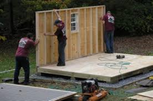 EDINBURG MCALLEN SHED INSTALLATION
