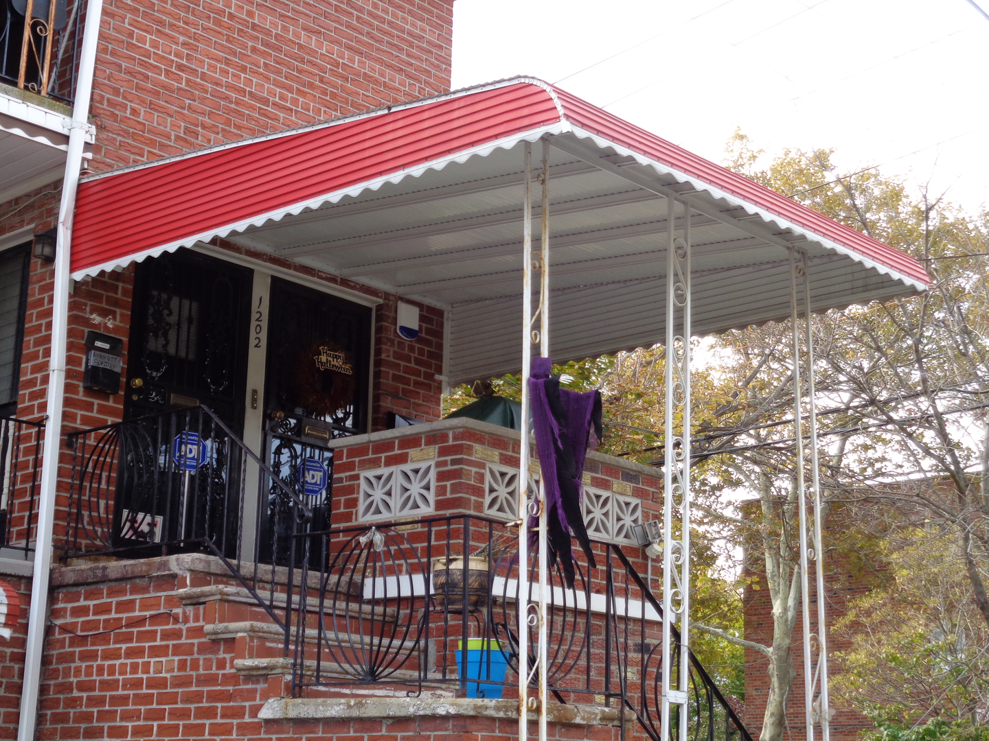 awnings size fiberama ny brooklyn full residential nyc citywide queens awning cool in new of aluminum commercial nj york inspirations