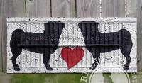 Shutter Art BarkingDogSalvageAndDesign Canadian Artist