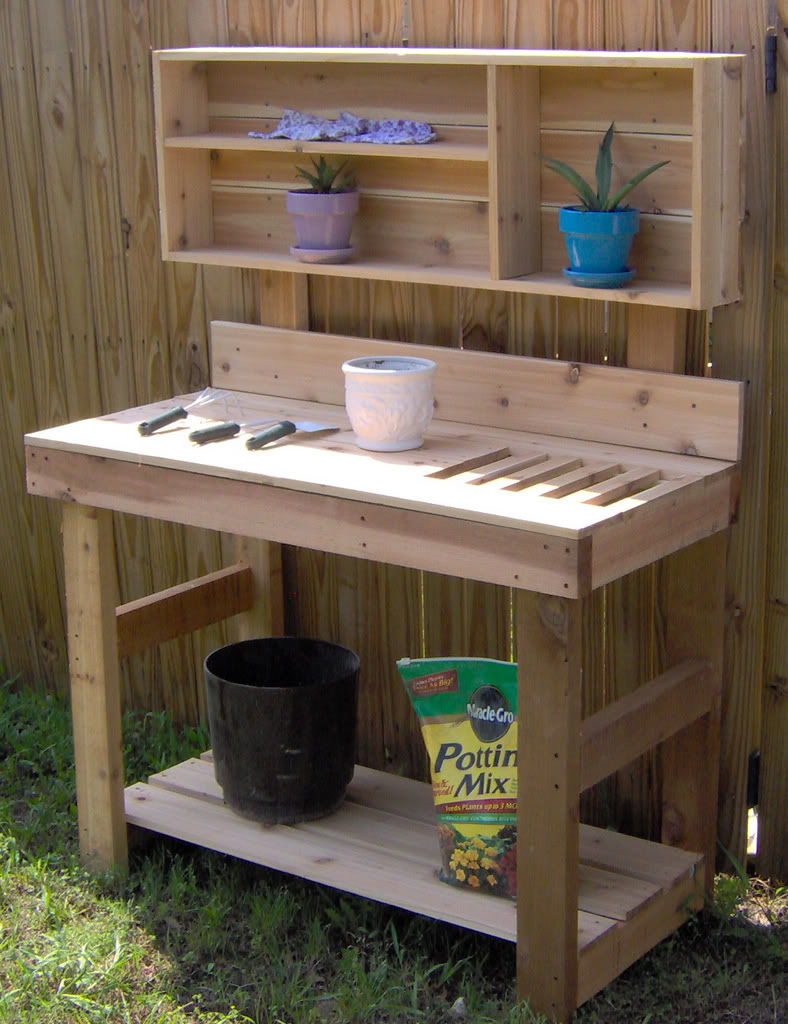 Ultimate Potting Bench