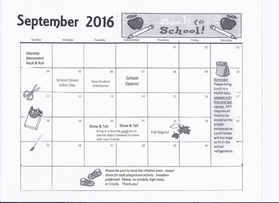 Calendar kiddie kampus west ccuart Choice Image