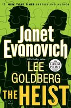 The Heist, mystery series, Janet Evanovich series, amazonbestseller, action adventure books