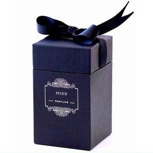 luxury perfume box with ribbon