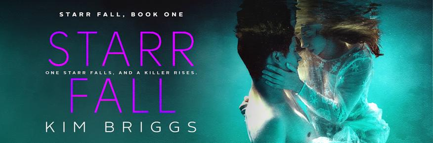 Starr Fall by Kim Briggs is the first book in the Starr Fall Series. When a secret organization decides that Starr Bishop is not only the model student but the ideal assassin Starr needs to escape the island and disappear. One Starr falls, and a killer rises.