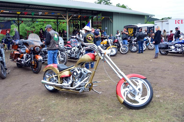 Texas Iron Motorcycle Rally on ScooterScribes