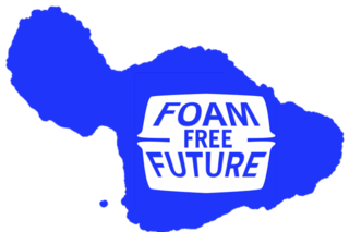 Maui Huliau Foundation's Foam Free Future website