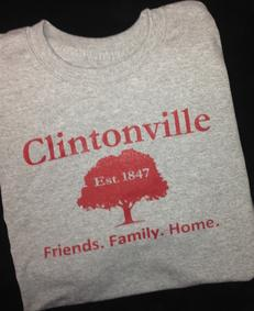 Clintonville Friends Family Home Tree Tee Shirt