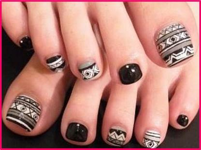 Nail Art Designs Legs Hession Hairdressing
