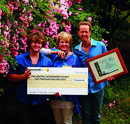 winning the sustainability award of the west australian community and regional awards 2012