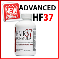 HF37 | Hair Formula 37 bottle best hair vitamins