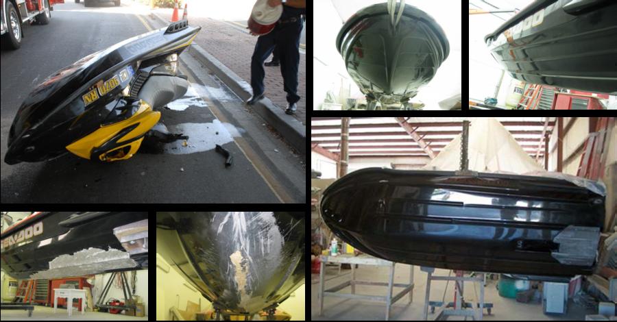 Jet Ski Fiberglass Repair Orange County, CA - We specialize