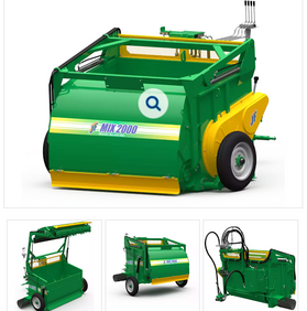 High Speed Chaff cutter & forage harvesters for silage making