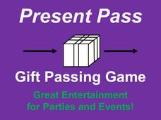 Present Pass Gift Passing Party Game