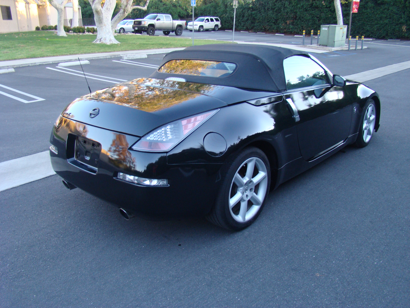 2005 nissan 350z red roadster 4763 2006 nissan 350z enthusiast roadster convertible vanachro Choice Image