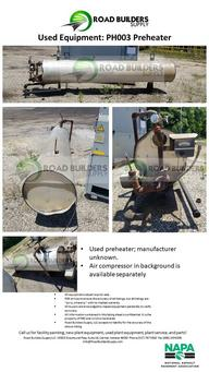 Used Preheater for Asphalt Plant