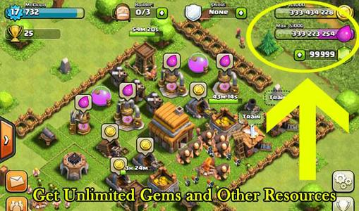 Clash of clans gratis gems proof